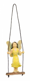Swinging Fairy (Hook Included) For Miniature Gardens