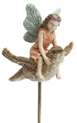 Fairy and Songbird on Pick For Miniature Gardens