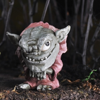 Griff the Troll for Miniature Fairy Gardens