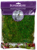 Bag Preserved Sheet Moss for Fairy Garden - 4oz