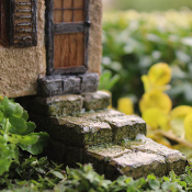 Fairy Steps for Miniature Fairy Gardening
