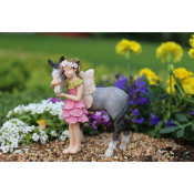 Penny with Pony for Miniature Fairy Gardens