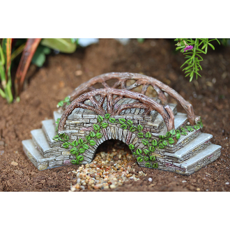 Enchanted Step Bridge For Miniature Fairy Gardens