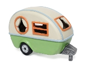 Retro RV With LED Solar Light for Miniature Fairy Gardens