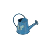 Butterfly Blue Watering Can For Gypsy Fairy Gardens