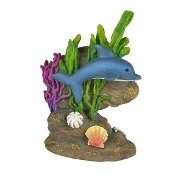 Dolphin Swimming by Coral for Merriment Mini Fairy Gardening