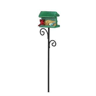 Birdfeeder with Songbirds for Merriment Mini Fairy Gardening