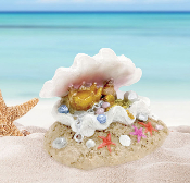 Mermaid's Sea Treasure For Miniature Fairy Gardens