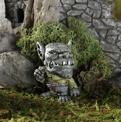 Drudge the Troll for Miniature Fairy Gardens