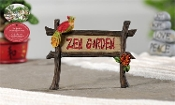 Zen Garden Sign for Miniature Fairy Gardens - EXCLUSIVE