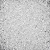 "Crushed Clear ""ICE"" Glass for Miniature Fairy Gardens - 12Oz"