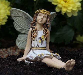 Sunny the Youth Fairy for Miniature Fairy Gardens