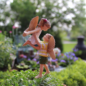 Time to Fly Fairies for Miniature Fairy Gardens