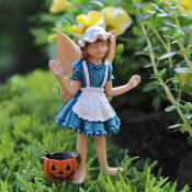 Annie the Trick or Treat Fairy for Miniature Fairy Gardens
