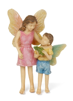 Look What I Found, Bentley & Mom, for Miniature Fairy Gardening