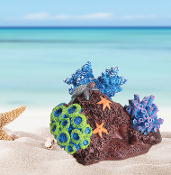 Large Coral Reef with Sea Stars for Miniature Fairy Gardening