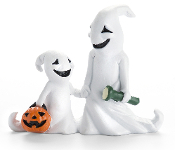 Parent and Child Ghosts for Miniature Fairy Gardening