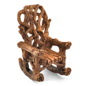 Twig Rocking Chair for Miniature Fairy Gardens 2.25""