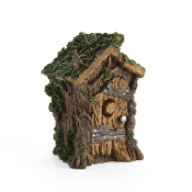 Swamp Woodland Outhouse for Miniature Fairy Gardens