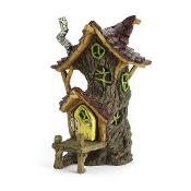 Crawdaddy's Swamp Shack for Miniature Fairy Gardens
