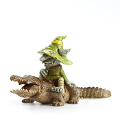 Crocker the Troll and Gator for Miniature Fairy Gardens