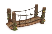 Rope Bridge for Miniature Fairy Gardening