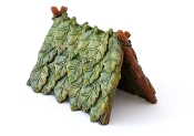 Leaf Tent for Miniature Fairy Gardening