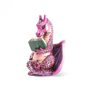 Reading Dragon for Miniature Fairy Gardens