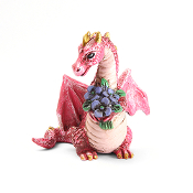 Flowers Dragon for Miniature Fairy Gardens