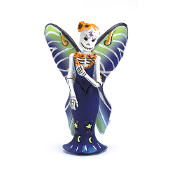 DAY OF THE DEAD Luna Fairy Catrina for Miniature Fairy Gardens