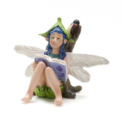 Seren with Glowing Firefly For Miniature Fairy Gardens