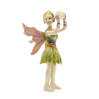 Glain the Fairy with Glowing Orb For Miniature Fairy Gardens