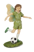 SALE! Bentlia the Soccer Fairy for Miniature Fairy Gardening
