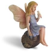 SALE! Feathered Friend for Miniature Fairy Gardening