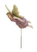 SALE! Lea the Fairy in Flight for Miniature Fairy Gardening