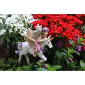 Magic the Unicorn & McKenna for Miniature Fairy Gardens