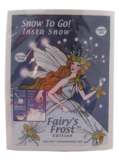 Fairy's Frost Snow Making Kit - Creates 1 Gallon of Snow