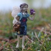 Maggie The Fairy & Toby For Miniature Fairy Garden