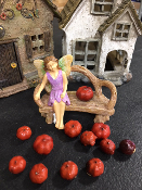 "SALE! 12 Assorted Natural Fairy ""Pumpkins"" For Miniature Gardens"