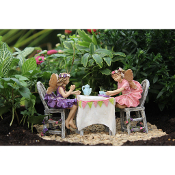 Set/5 Afternoon Tea for Miniature Fairy Gardens
