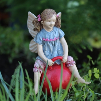 Jordan the Fairy for Miniature Fairy Gardens