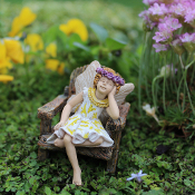 Hattie Fairy for Miniature Fairy Gardens