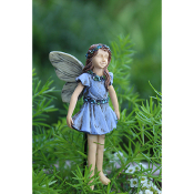 Paisley Youth Fairy for Miniature Fairy Gardens
