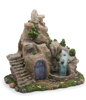 Glowing Waterfall for Miniature Fairy Gardening