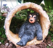 Bobby the Bear for Miniature Fairy Gardens