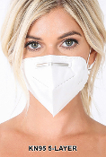 KN95 5 Layer Protective Mask - SET OF 10 - SALE