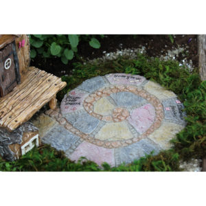 Follow Your Dreams Pathway Pad For Miniature Fairy Gardens