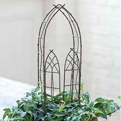 Gothic Willow Arbor For Miniature Fairy Gardens